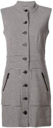 Veronica Beard sleeveless houndstooth dress