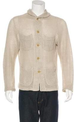 Barena Venezia Linen Knit Cardigan