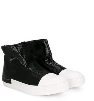 Cinzia Araia Kids sequinned slip-on booties