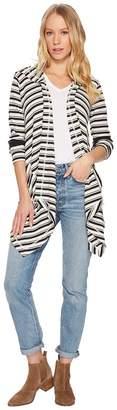 Splendid Anchorage Thermal Stripe Cardi Women's Sweater