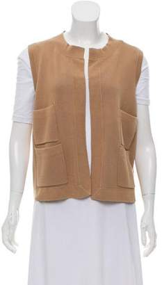 TSE Sleeveless Cardigan Vest