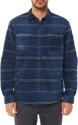 O'Neill Glacier Fleece Lined Shirt Jacket