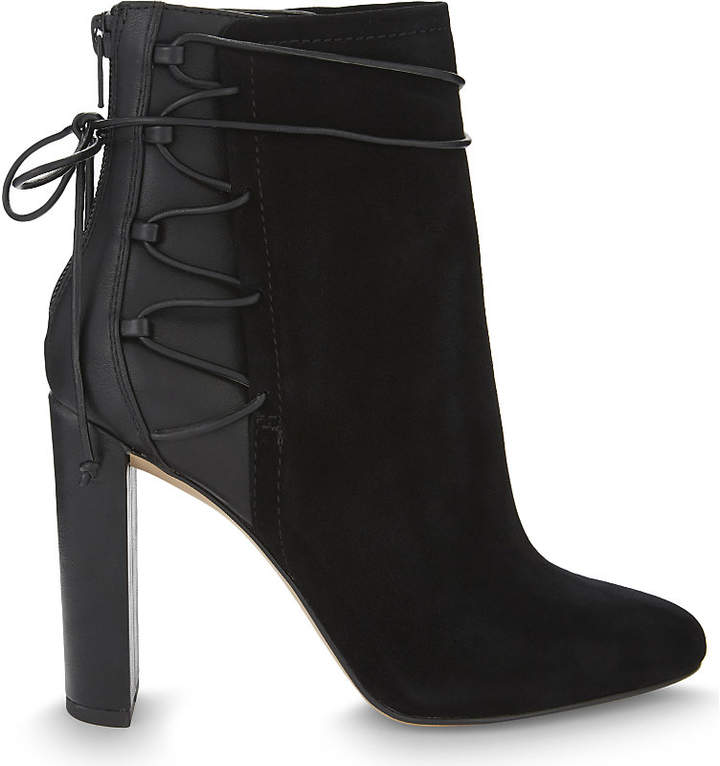 Aldo Taessa suede and synthetic ankle boots