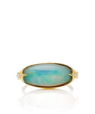 Andrea Fohrman One-Of-A-Kind Galaxy Opal Ring