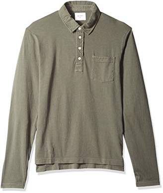 Billy Reid Men's Long Sleeve Pensacola Polo Shirt with Pocket