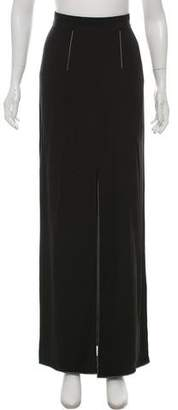 Juan Carlos Obando Silk Maxi Skirt