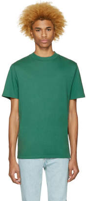 Alexander Wang Green High Neck T-Shirt