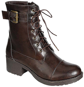 Brown Buckle Master Boot $46 thestylecure.com