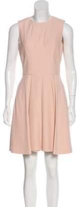 Alexander McQueen Sleeveless A-Line Dress