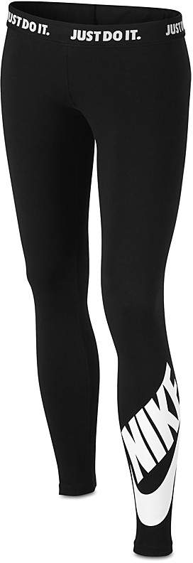 Nike Girls' Sportswear Leg-A-See Leggings - Big Kid