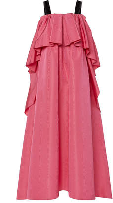 ADAM by Adam Lippes Moiré Pleated Gown