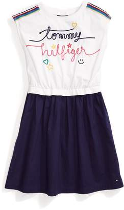 Tommy Hilfiger Sleeveless Combi Dress