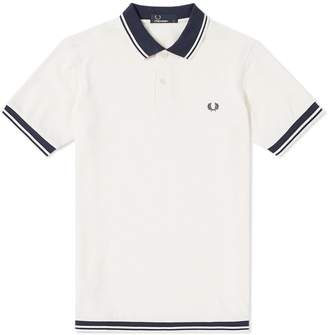 Fred Perry Authentic Hem Rib Pique Polo