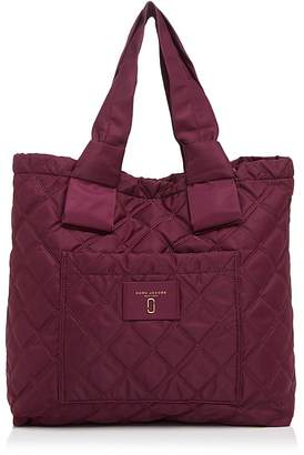 MARC JACOBS Knot Quilted Nylon Tote $225 thestylecure.com