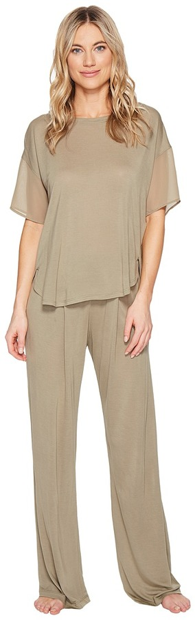 DKNY DKNY - Fashion Short Sleeve Top Pants Sets Women's Pajama Sets