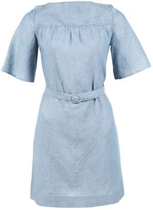 A.P.C. Blue Linen Dresses
