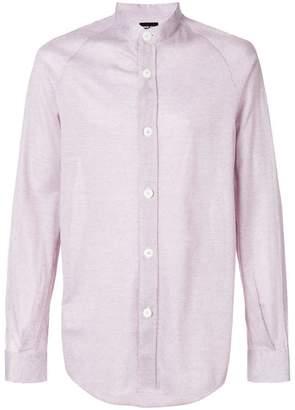 Giorgio Armani stand collar shirt