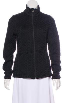 Spyder Cable Knit Zip-Up Casual Jacket
