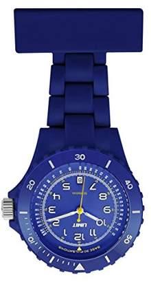 Limit Women Quartz Watch with Blue Dial Analogue Display and Blue Plastic Bracelet 6111.90