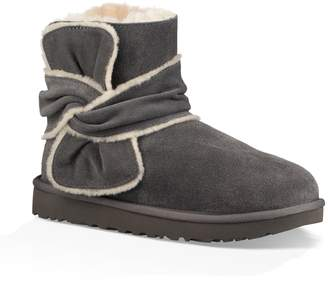 UGG Mini Bow Spill Seam Bootie