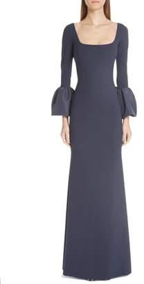 Chiara Boni Aarymalda Bell Sleeve Gown