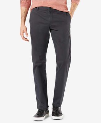 Dockers Men Original Slim-Fit Performance Stretch Temperature-Regulating Khaki Tech Pants