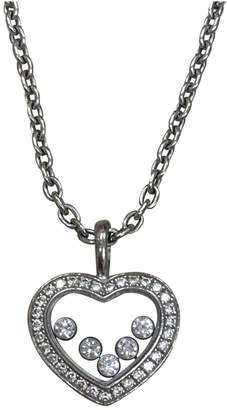 Chopard Happy Diamonds white gold necklace