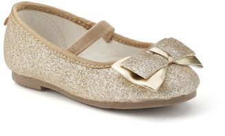 Carter's Big Bow Toddler Girls' Ballet Flats $34.99 thestylecure.com