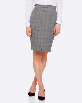 Oxford Alice Check Suit Skirt