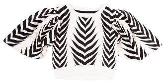 Girl's Bowie James Little Hawk Kimono Crop Top $50 thestylecure.com