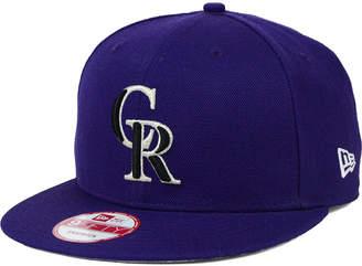 sale retailer 77b15 14bc0 ... New Era Colorado Rockies 2-Tone Link 9FIFTY Snapback Cap
