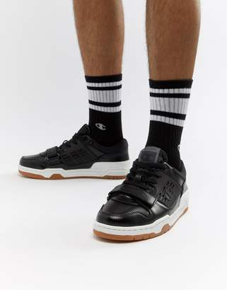 Champion 3 On 3 Low Sneakers In Black
