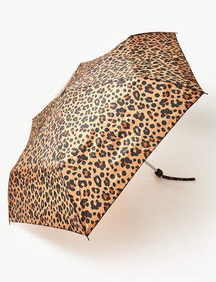 M&S CollectionMarks and Spencer Animal Print Compact Umbrella