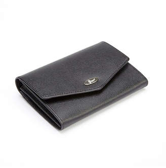 Royce Leather Royce Rfid Blocking Luxury French Purse Wallet in Saffiano Genuine Leather