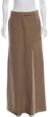 CNC Costume National Wool Maxi Skirt