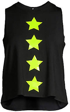 ULTRACOR Women's Knockout Star Print Tank