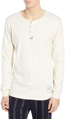 Scotch & Soda Long Sleeve Henley Shirt