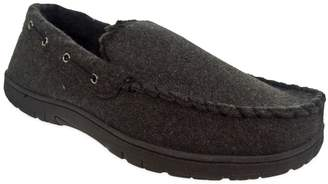 Black Brown 1826 Men's Thinsulate Moccasin Slippers