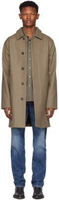 A.P.C. Taupe Mac Auster Coat