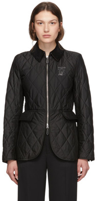 Burberry Black Quilted Ongar Jacket