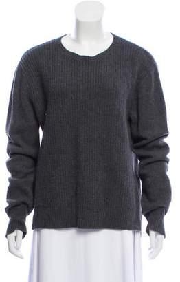 Organic by John Patrick Wool Medium Knit Sweater