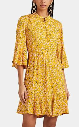 By Ti Mo byTiMo Women's Floral Crepe Flounce Minidress