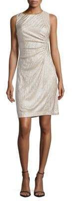 Calvin Klein Crewneck Jersey Dress