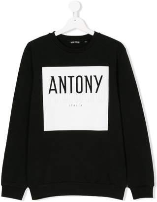 Antony Morato Junior TEEN logo sweatshirt