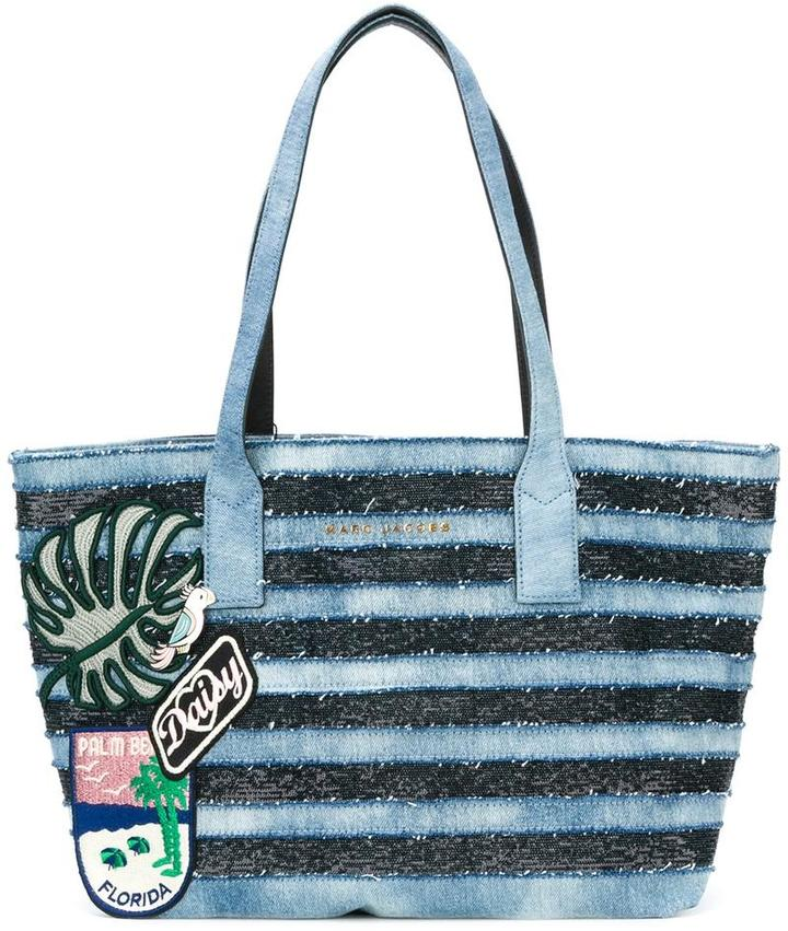 Marc Jacobs Marc Jacobs denim Wingman tote