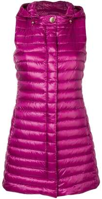 Herno hooded zipped gilet