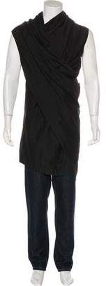 Julius Asymmetrical Longline Sleeveless T-Shirt