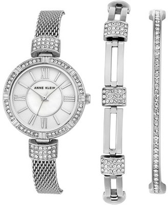 Women's Anne Klein Watch & Bangle Set, 28Mm $150 thestylecure.com