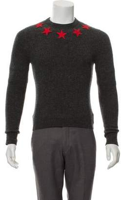 Givenchy Appliqué Star Wool Sweater