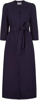 Alice Early The Raminta Shirt Dress - Navy